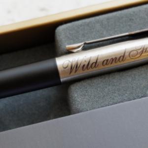 Лазерная гравировка на ручках Щербинка